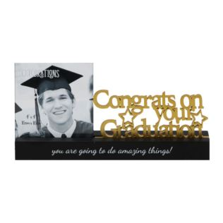 Graduation Celebrations Freestanding Mantel Photo Frame Product Image