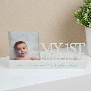 Celebrations Photo Frame - My 1st Birthday Product Image