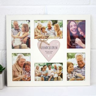 Multi Aperture Grandchildren Collage Frame Product Image
