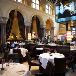 Three Course Michelin Starred Meal with Bubbles for Two at Galvin La Chapelle Product Image