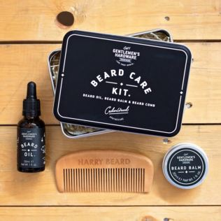 Beard Care Kit With Personalised Comb Product Image