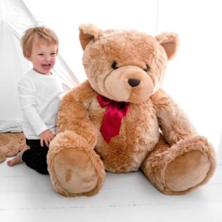 Giant Super-Soft Honey Bear Product Image