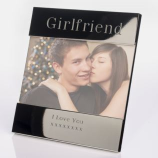 Engraved Girlfriend Photo Frame Product Image