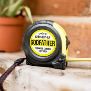 Personalised Godfather Tape Measure Product Image