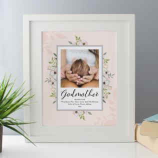 Personalised Godmother Photo Upload Framed Print Product Image