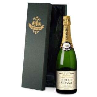 Personalised Golden Anniversary Champagne Product Image