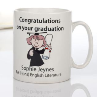 Personalised Graduation Mug Product Image