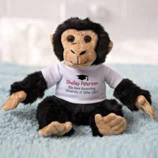 Graduation Message Monkey Product Image