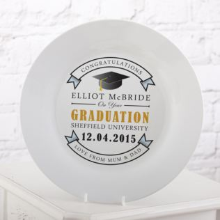 Personalised Graduation Plate Product Image