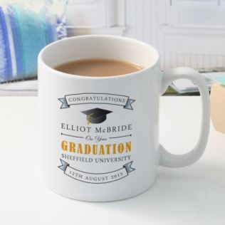 Personalised Graduation Scroll Mug Product Image