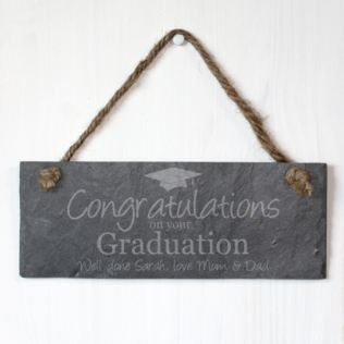 Personalised Graduation Slate Plaque Product Image