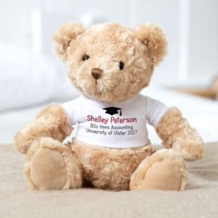 Personalised Graduation Bear Product Image