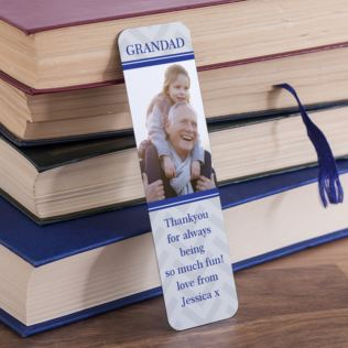 Personalised Grandad Photo Upload Bookmark Product Image