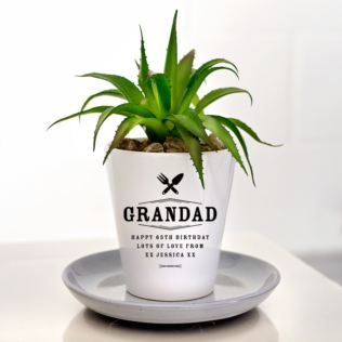 Grandad Personalised Plant Pot Product Image