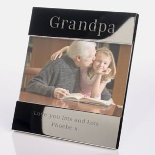 Engraved Grandpa Frame Product Image
