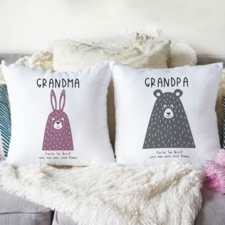 Personalised Pair Of Grandparents Cushions Product Image