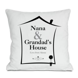 Grandparents House Personalised Cushion Product Image