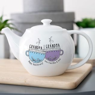 Personalised Grandparents Teapot Product Image