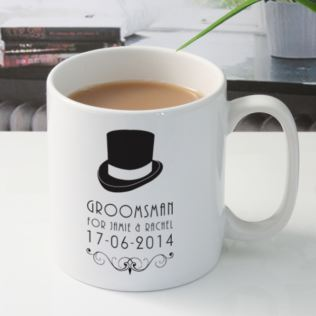 Personalised Groomsman Mug Product Image