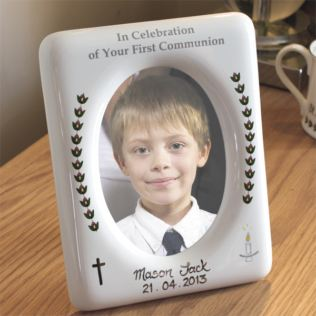 First Holy Communion Handpainted Photo Frame Product Image