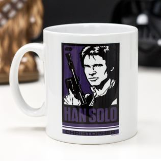 Personalised Star Wars Han Solo Pop Art Mug Product Image