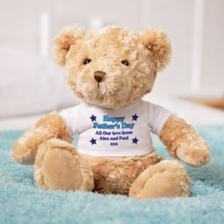 Personalised Fathers Day Teddy Bear Product Image