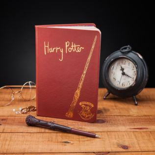 Harry Potter Notebook And Wand Pen Product Image
