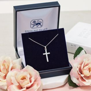 Cross Pendant with Personalised Gift Box Product Image
