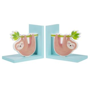 Happy Sloth Bookends Product Image