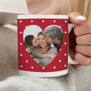 Personalised Heart Image Mug Product Image