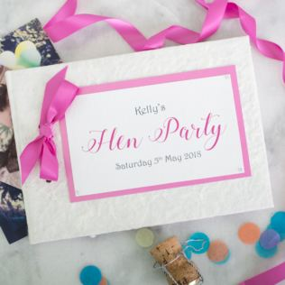 Personalised Hen Night Photo Memory Book Product Image