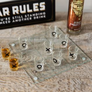 Shot Glass Tic Tac Toe Drinking Game Product Image