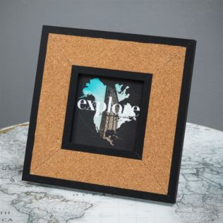 Cork Board Photo Frame - Harvey Makin 4 x 4 Product Image
