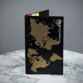 World Map Travel Wallet For Retirement Product Image
