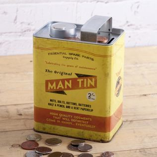 The Original Man Tin Money Box Product Image