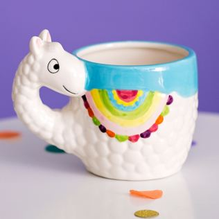 The Happy News - Ceramic Llama Mug Product Image
