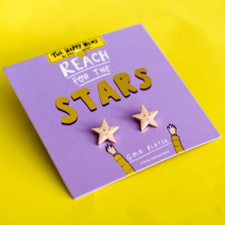 By Emily Coxhead The Happy News - Reach For The Stars Earrings Product Image