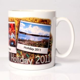 Personalised Countryside Holiday Mug Product Image