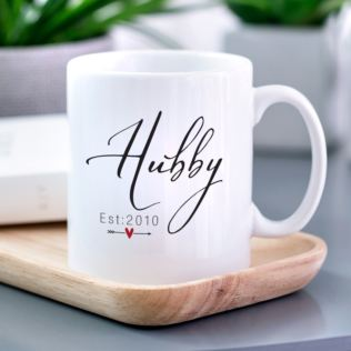 Just Married Hubby Mug Product Image