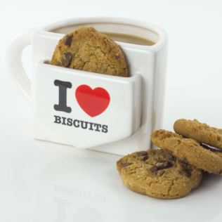 I Heart Biscuits Mug Product Image