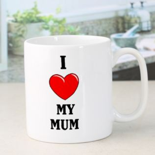 I Heart My Mum Mug Product Image