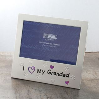 I Love My Grandad Photo Frame Product Image