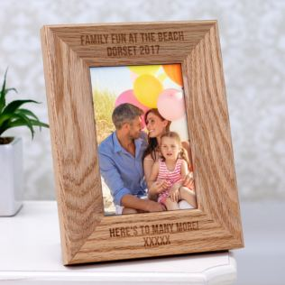 Engraved Wooden 6 x 4 Photo Frame Product Image