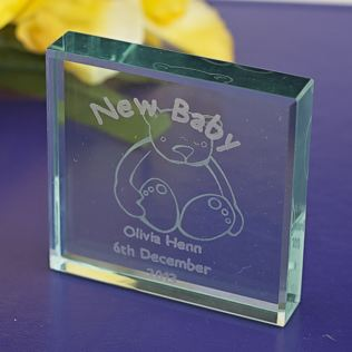 New Baby Keepsake (Teddy) Product Image