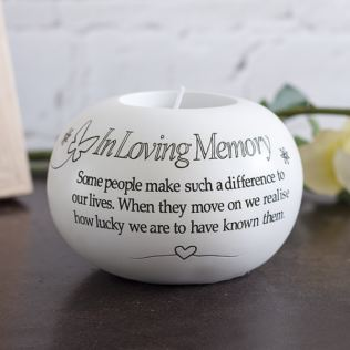 In Loving Memory Tea Light Holder Product Image