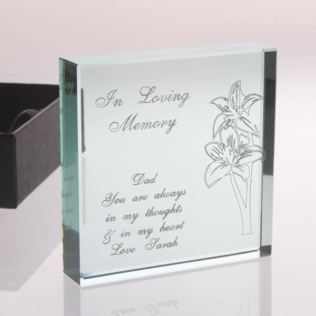 In Loving Memory Keepsake Product Image