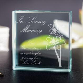 In Loving Memory Keepsake Product Image