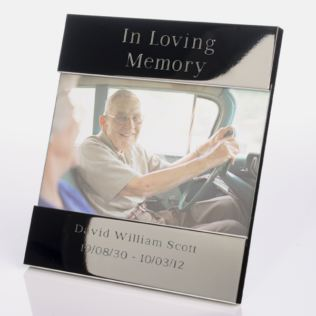 In Loving Memory Engraved Photo Frame Product Image