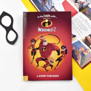 Personalised Disney Incredibles 2 Story Book Product Image