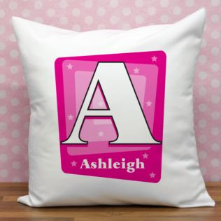 Personalised Girl's Initial Cushion Product Image